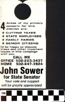 Image of John Sower for State Senator
