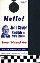 Image of John Sower Candidate for State Senator