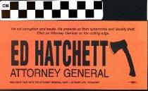 Image of Ed Hatchett Attorney General