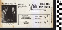 Image of Pull the Top Lever: Vote the Ford-Snyder team