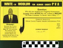 Image of Write-In Wollum for Oldham County PVA