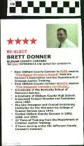 Image of Re-Elect Brett Donner Oldham County Coroner