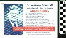 Image of Experience Counts!! On the Kentucky Court of Appeal James Kidney