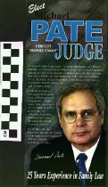 "Image of Elect Michael Pate Circuit ""Family Court' Judge"