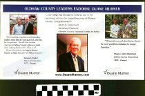 Image of Oldham County Leaders Endosre Duane Murner