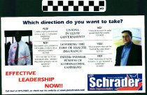 Image of Effective Leadership Now!! : Vote Joel Schrader State Representative