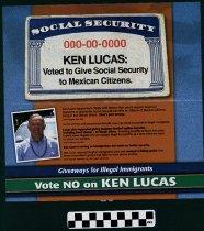 Image of Vote No on Ken Lucas