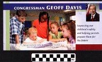 Image of Improving Children's Safety: Congressman Geoff Davis.