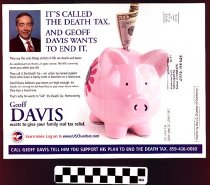 Image of Geoff Davis plans to end the Death Tax