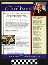 Image of Congressman Geoff Davis: Taking care of our Military Men and Women