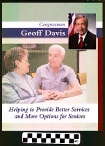 Image of Congressman Geoff Davis: Helping to provide better services and more option