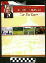 Image of Congressman Geoff Davis Year End Report