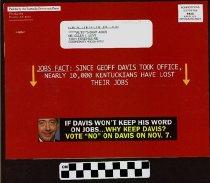 "Image of If Davis Won't Keep his word on Jobs.. why keep Davis"""