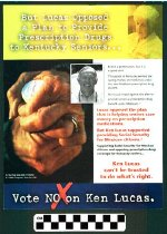 Image of Vote no on ken Lucas