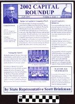 Image of 2002 Capital Roundup: State Representative Scott Brinkman