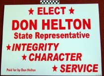 Image of Elect Don helton State Representative
