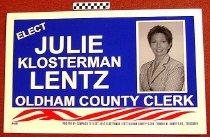 Image of Elect Judge Klsterman Lentz Oldham County Clerk