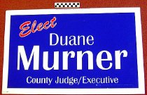Image of Elect Duane Murner: County Judge/ Executive