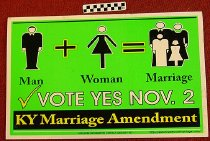 Image of Vote yes Nov. 2: Kentucky marriage ammendment