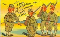Image of But I Am At Attention - C. T. Army Comics