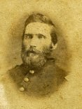 Image of Carte de visite of Captain John F. Gallaher, Franklin, Warren Co. Ohio