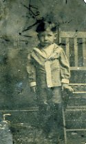 Image of Tintype of small boy