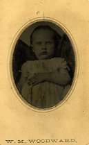 Image of Small Tintype of W. M. Woodward