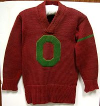 Image of Ogden College letterman's sweater - Sweater