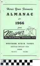 Image of Farmer's Almanac 1966 Magner Livestock Co.