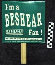 Image of 2007.224.6 - Steve Beshear & Dan Mongiardo political fan