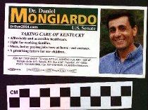 Image of Dr. Daniel Mongiardo U.S. Senate