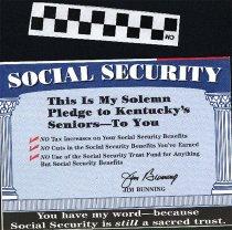 Image of Social Secruity Pledge to Kentucky's Seniors