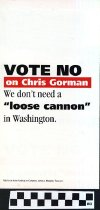 Image of Vote No on Chris Gorman