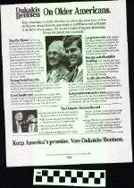 Image of Dukakis / Bentsen: On Older Americans [political handbill] - Dukakis/Bentsen