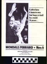 Image of Mondale/Ferraro: November 6