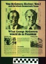 Image of Vote McGovern-Shriver November 7th Patton '88 Congress [political handbill] -