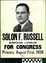 Image of Solon F. Russell Democratic Candidate for Congress