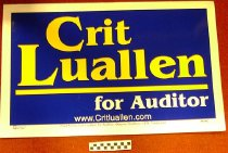 Image of Crit Luallen for Auditor