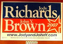 Image of Jody Richards and John Y Brown