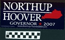Image of Northup/ Hoover: Governor 2007