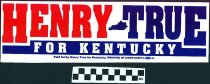 Image of Henry True for Kentucky