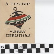 Image of A Tip Top Merry Christmas Greeting Card