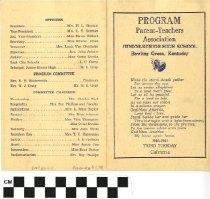 Image of PTA Junior-Senior High School program, front