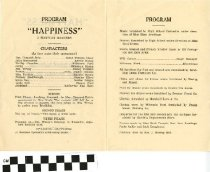 "Image of ""Happiness"" play program, back"