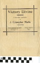 "Image of ""Victory Divine"" A sacred Cantata"