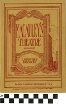 Image of Macauley's Theatre Magazine 1919 (front)