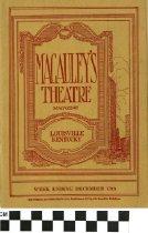Image of Macauley's Theatre Magazine 1919 (front)