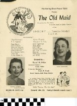 "Image of ""The Old Maid"" program"