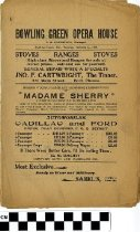 "Image of ""Madame Sherry"" play program"