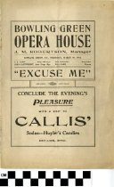 "Image of ""Excuse Me"" play program, 1914"